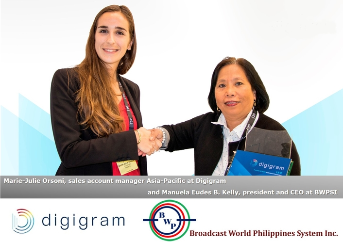 Digigram Signs Sound Card Distribution Agreement With Broadcast World Philippines