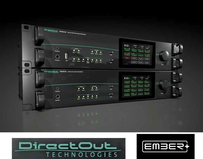 Control is key – DirectOut's PRODIGY Series available with Ember+