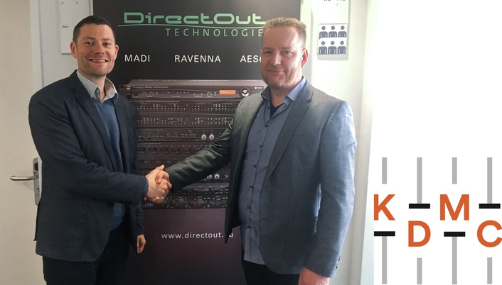 DirectOut signs up with KDMC in Denmark