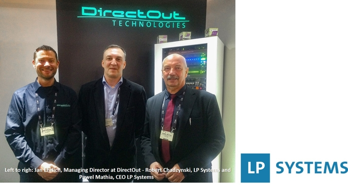 DirectOut signs distribution deal with Polish company LP Systems