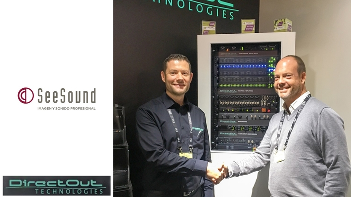 DirectOut adds Spanish company SeeSound to its list of distributors