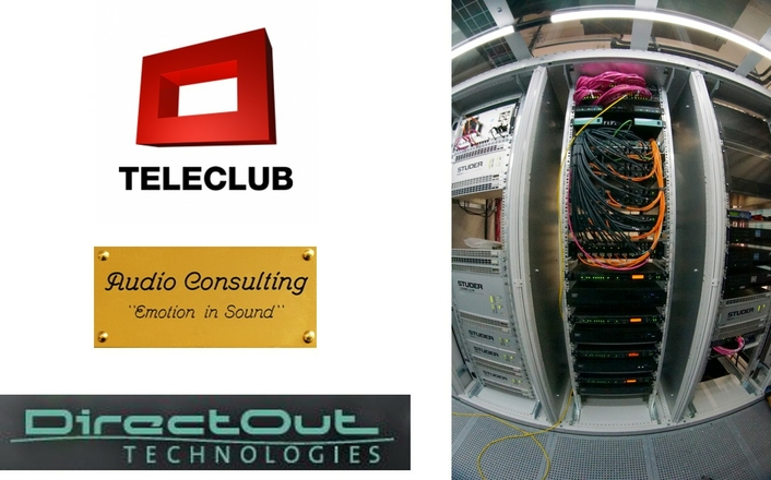 Teleclub production center relies on DirectOut system compound