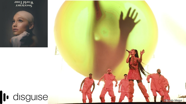 disguise solutions power innovative video for  Ariana Grande's Sweetener World Tour