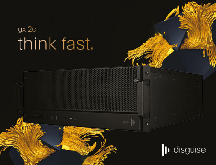 disguise gx 2c server unlocks powerful new capabilities for broadcast and live productions