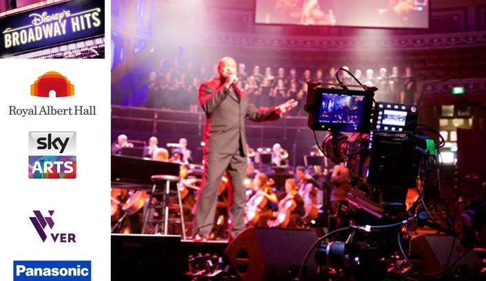 """Panasonic Supports Production of """"Disney's Broadway Hits"""" at Royal Albert Hall"""