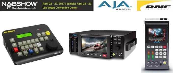 DNF Panel Provides Path to IP Control of AJA's Ki Pro