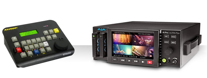 DNF's ST600 Provides IP Control of New AJA Ki Pro Ultra Plus