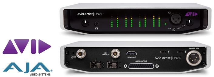 AJA and Avid Team Up On Avid Artist | DNxIP Hardware Interface