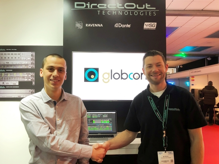 DirectOut Premiers globcon Software Support for Unified Control