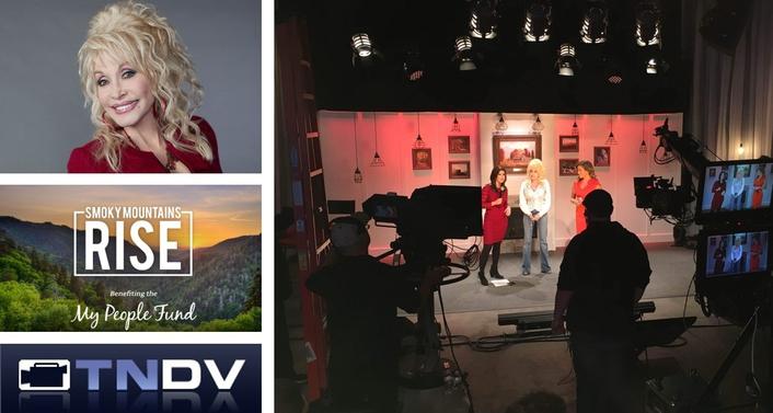 TNDV Production Services for Dolly Parton's Smoky Mountains Rise Telethon