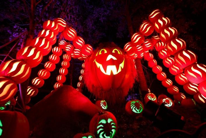 "Dollywood ""Great Pumpkin LumiNights"" Aglow in Elation Lighting"
