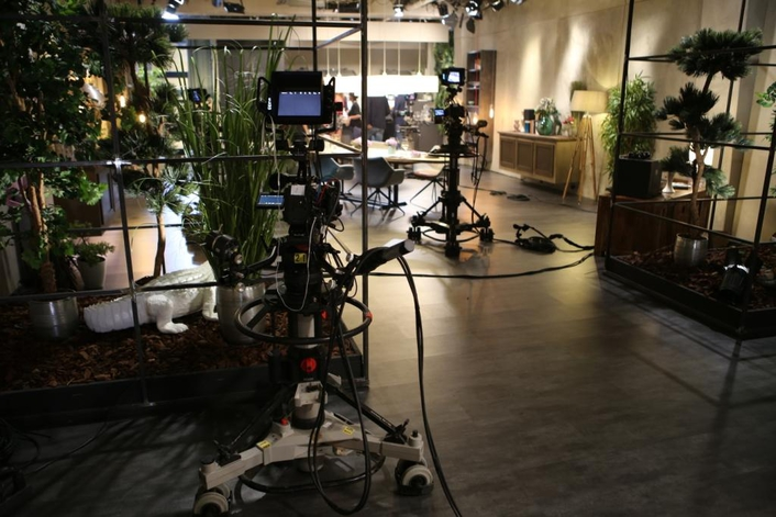SAT1 LATE NIGHT'DINNER PARTY'TALK SHOW PRODUCED WITH URSA MINI PRO