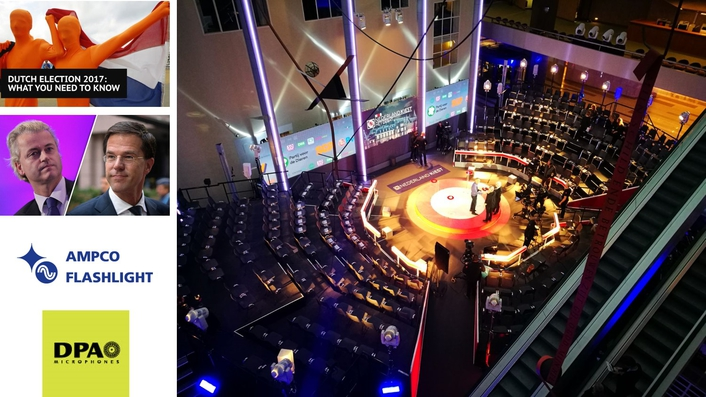 DPA Microphones Brings Live Political Debate To Dutch Television Viewers