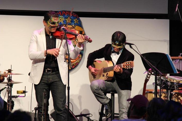 The company's d:vote™ 4099 Instrument Mics capture the quartet's unique sound