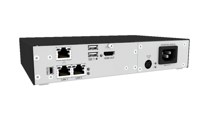 IP connectivity enables remote access to secure KVM systems