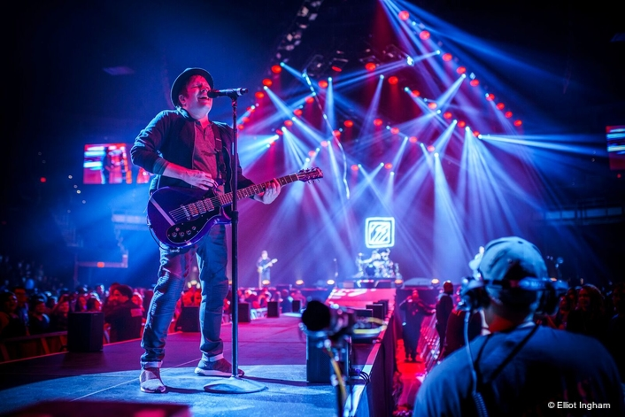 "Fall Out Boy Ramps Up for the ""Mania Tour"" With Their Largest-Scale Production Ever Including Clay Mythos 2 and A.leda B-EYE K20 Fixtures"