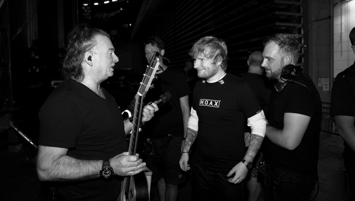AUTOGRAPH DELIVERS FREESPEAK II WIRELESS COMMS SOLUTION FOR ED SHEERAN 'DIVIDE' TOUR