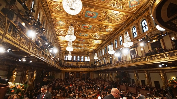 58th ORF broadcast from the Musikverein to the whole world with the OBVan Ü8 from TV Skyline