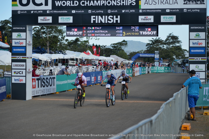 Gearhouse Broadcast provides OB, event comms  and post production solution for  2017 UCI Mountain Bike World Championships