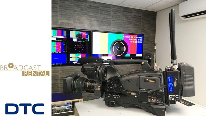 Broadcast Rental selects DTC AEON TX for wireless 4K/UHD program