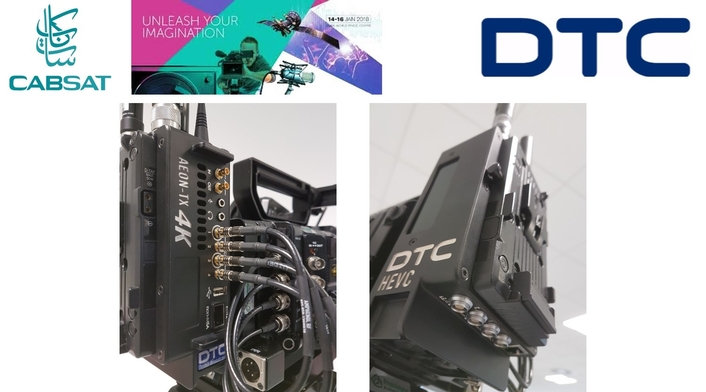 DTC Domo Broadcast to feature wireless HEVC 4K UHD solution at CABSAT 2018