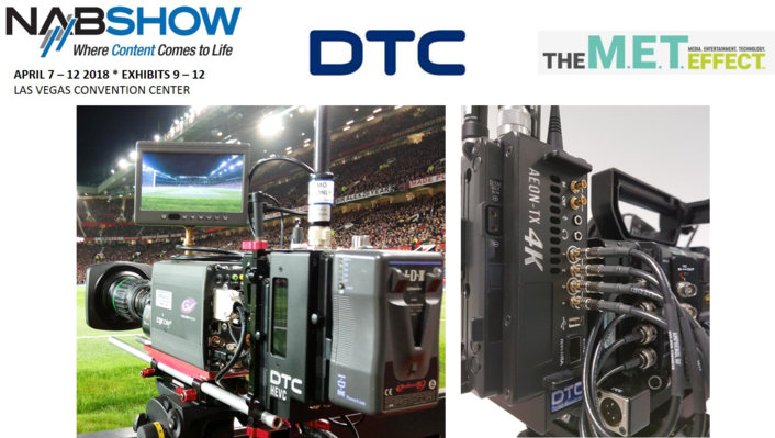 DTC Broadcast to showcase breakout wireless 4K transmitter at NAB2018