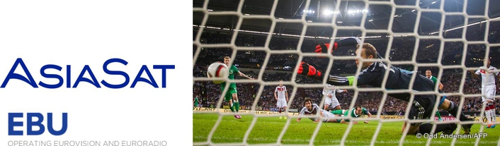 EBU and AsiaSat Deliver Major Football Event Live in UHD