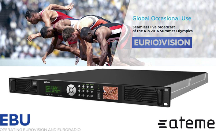EBU-Eurovision Selects ATEME to Power Major 2016 Sports Events