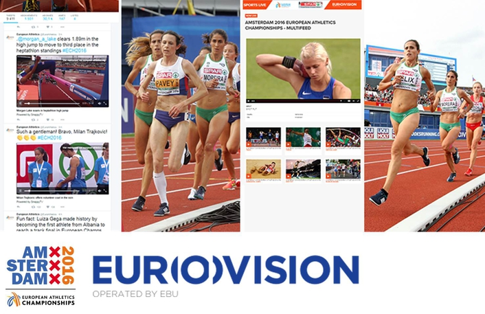 Eurovision successfully inaugurates a new range of services at Amsterdam2016
