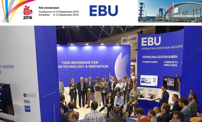 EBU to showcase innovative technologies at IBC 2016