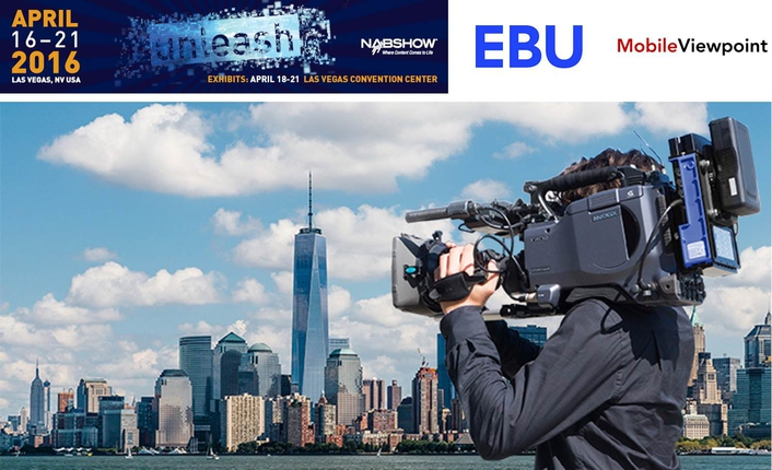 Eurovision and Mobile ViewPoint to showcase new FLEX HEVC terminals at NAB Las Vegas