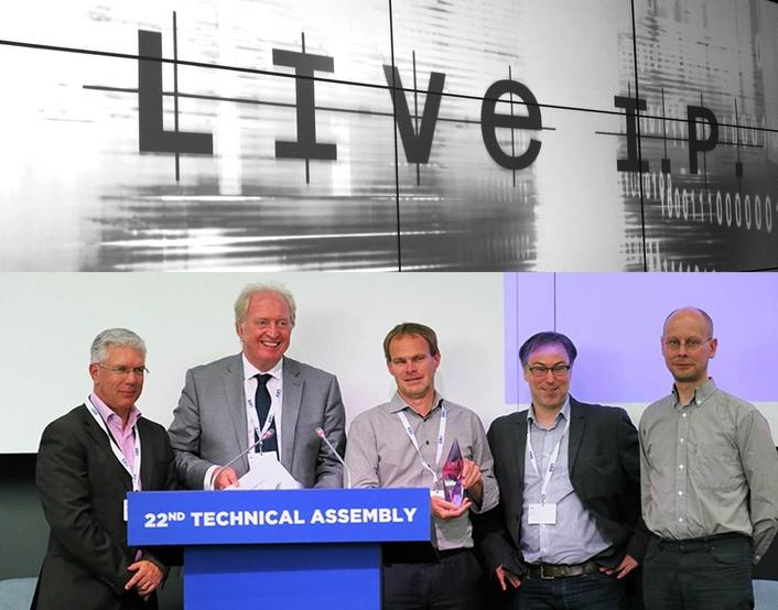 VRT Sandbox LiveIP Studio wins first EBU Award for Technology & Innovation