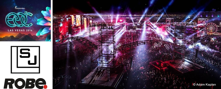 Robe Gets Electric at EDC Las Vegas