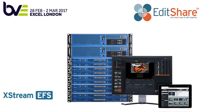 EditShare Provides a Collaborative Media Platform for BVE2017 Attendees