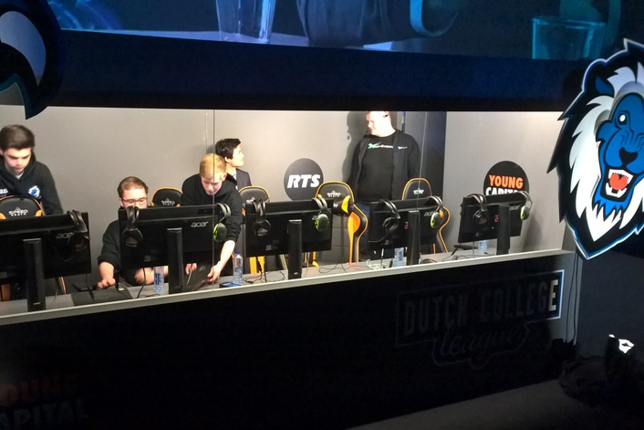 RTS intercoms support innovative League of Legends live eGaming telecasts in the Netherlands