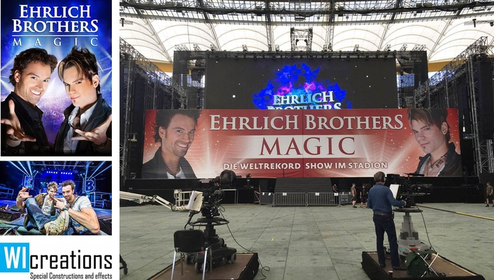 WI Adds some Magic Movement for  Ehrlich Brothers