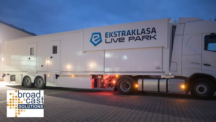 Polish Broadcaster Ekstraklasa Live Park Live on Production With New OB Van by Broadcast Solutions GmbH