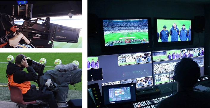 The Panasonic AK-UC3000 has been used by MEDIAPRO for the first live 4K broadcast of the Barcelona vs Real Madrid 'El Clasico' match