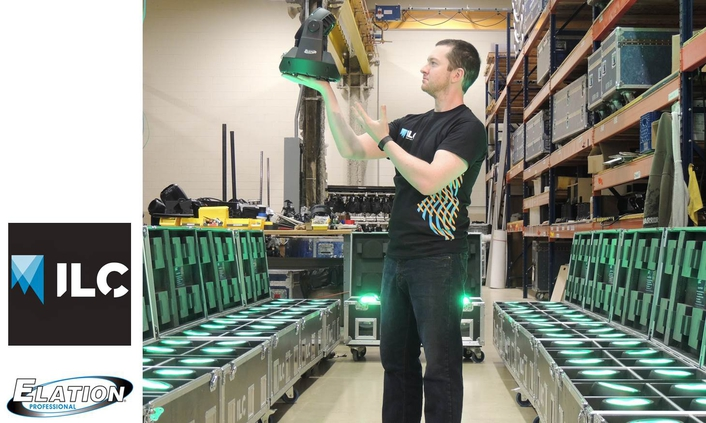 Intelligent Lighting Creations Adds Elation Volt Q5™ Rechargeable Uplights to Rental Inventory