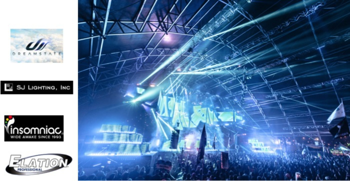 EDM Marches On with Insomniac, SJ Lighting and Elation Gear