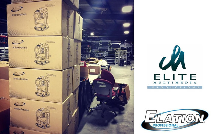 Elite Multimedia adds Elation Artiste DaVinci to their rental inventory