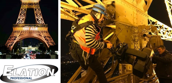 Magnum chooses Proteus for Eiffel Tower 130th Anniversary Light Show