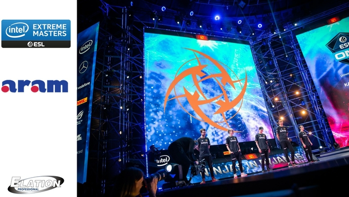 ARAM set designer and technical event supplier for Intel Extreme Masters in Katowice, Poland