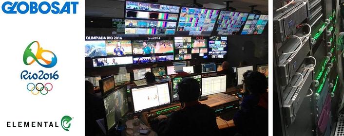Globosat Used Elemental to Stream the Rio Olympics