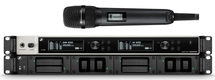 ALL ABOARD! SENNHEISER SUPPLIES WIRELESS DIGITAL 6000 MICROPHONES TO EUROVISION SONG CONTEST