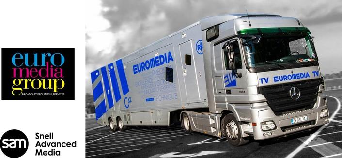 SAM technology chosen for EUROMEDIA's fleet of hybrid 4K OB vans