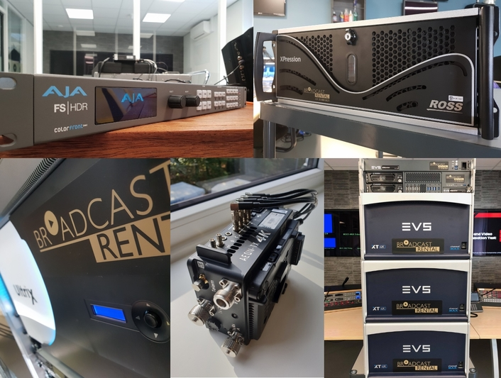 Broadcast Rental invests in new equipment