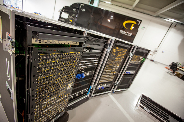 ES Broadcast's systems integration division has delivered three UHD portable production units and one HD 3G PPU for live events and AV specialist, Creative Technology (CT).