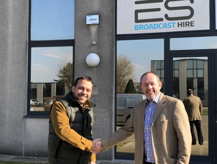 ES Broadcast opens new hire office in Brussels