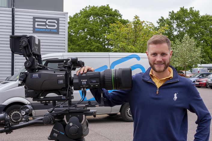 ES Broadcast Hire first in Europe to take delivery of Canon CJ45ex9.7B lenses